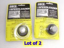 2 Lot HKS 587-A SpeedLoader for 7-Shot S&W 357 L Frame 686 TAURUS 66 617 817 827