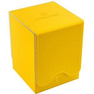 Squire 100+ Card Convertible Deck Box: Yellow GameGenic Asmodee NEW
