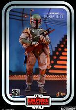 "Star Wars Boba Fett 40th Ann 12"" 1/6 Scale Hot Toys Figure Mms574 INSTOCK"