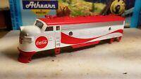 Athearn HO f7 a Coca-cola shell for locomotive train engine  body rare Coke