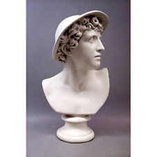 "Mercury Bust Roman Messinger of Gods 23"" Replica Reproduction"
