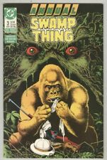 Swamp Thing Annual #3 VF 1987 Bolland cover