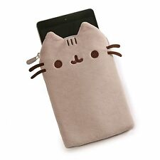 Pusheen 10 inch Tablet Plush Case Cat Kitty Gund Plus 18 Puffy Stickers 4053809