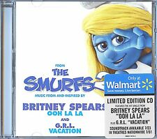 BRITNEY SPEARS Ooh La La LIMITED EDITION CD Single THE SMURFS 2 Soundtrack G.R.L