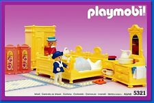 Playmobil 5321 Victorian Yellow Bedroom VINTAGE NEVER DISPLAYED