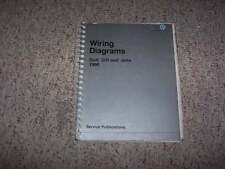 1990 VW Volkswagen Golf GTI Jetta Electrical Wiring Diagram Service Manual