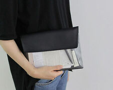 Mini A5 Size Document Bag -Vintage Pouch A5- Handy Case Portable Pocket Holder