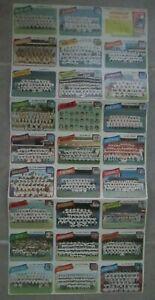 RARE 1980 TOPPS BASEBALL TEAM CHECKLIST UNCUT PANEL / SHEET ~ ORIGINAL!