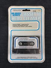 New listing Vintage Realistic Non-Abrasive Automatic Cassette Head Cleaner 44-1160A
