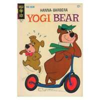 Yogi Bear (1959 series) #24 in Fine condition. Dell comics [*mg]