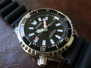 "CITIZEN ""AUTOMATIC Diver's 200m"" Limited Edition Asia NY0080-12E (Fugu) LE/1000"