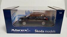 ABREX SKODA Fabia Black Magic CAR MODEL 143AB008D / 4-47470 1:43 MIB OVP