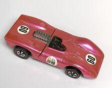 Hot Pink Ferrari 312P Hot Wheels Redline 1969 USA Clean Excellent GP