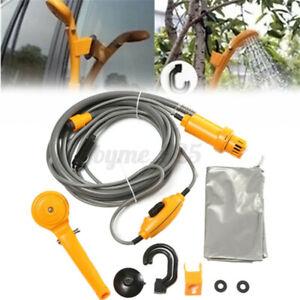 12V Portable Car Washers Shower Shower High Pressure Power Washer Electric Pum