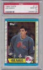 1989 Topps #113 Joe Sakic Rookie RC SSP GEM MINT PSA 10