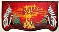 EL KU TA LODGE OA 520 GREAT SALT LAKE COUNCIL 55TH 60TH ELK SCOUT SERVICE FLAP