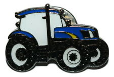 Ford / New Holland Blue Tractor Pin Badge Gift/Novelty Enamel Farming hats bags