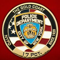 Challenge coin US Long Island North Coast Police Department . USA. NYPD. Guards