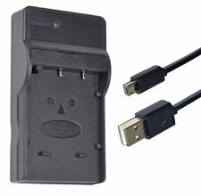 Micro USB Battery Charger for Pentax Optio WG1, WG2 GPS, WG3 GPS Digital Camera