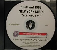 1968 and 1969 New York Mets Highlights both on DVD!