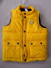 Boys Baby Gap quilted & fleece lined vest size 3