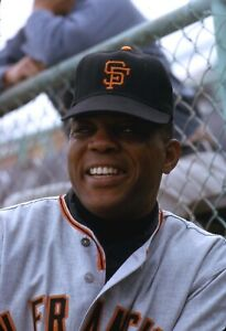 Willie Mays 1964 San Francisco Giants Original Photo Color Negative 35MM RARE