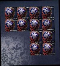 Grenada 2009 Peony Flowers MNH Sheet #V3288