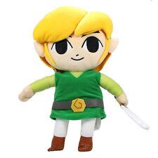 Legend of Zelda Phantom Hourglass- Plush Figure - LINK ( Medium - 12 inch ) New