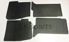 GENUINE Land Rover Discovery 2 Front&Rear Rubber Floor Mats Set 99-04 STC50048AA
