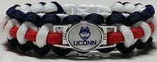UCONN; Huskies Navy, Red, and White Paracord Bracelet