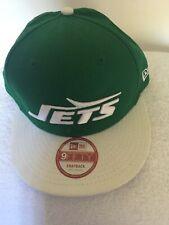 NFL NY Jets Logo Green Vintage Era Snapback Baseball Cap, New 78-97 Team