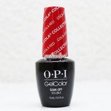 OPI GelColor Soak Off LED/UV Gel Nail Polish 15ml 0.5 fl oz Coca Cola Red #GCC13