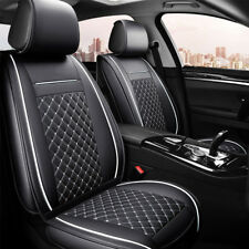 Padded Black Front & Rear Seat Covers Honda Accord Euro Jazz Civic City CRV HRV