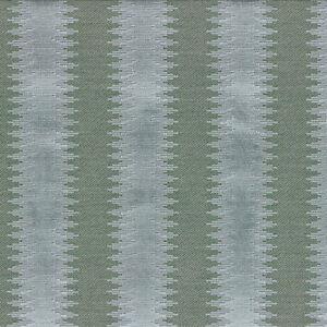 Cowtan Tout Velvet Stripe Upholstery Fabric- Empire Stripe / Aqua 2.1yd 11193-03