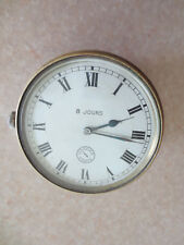 Vintage Jaeger 8 day clock for Delage Renault Citroen Daimler Bugatti Vauxhall