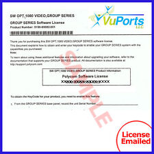 NEW Polycom - Group Series 1080p HD Software License  Part Number 5150-65082-001