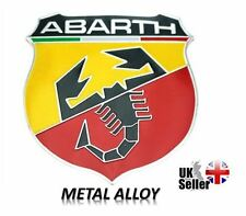 FIAT ABARTH SCORPION ITALY MOTOR SPORTS 3D Metal Badge Racing Emblem Sticker UK