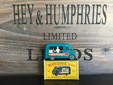 matchbox regular wheels no.47B-1.Very Rare Gray Version near mint OVP n.m.1963