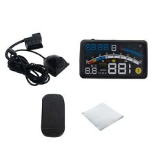 "ASH-4E 5.5"" Universal OBD2 Car GPS HUD Head Up Display Overspeed Warning System"