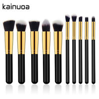 10pcs Makeup Brushes Set Eyeshadow Contour Cosmetic Face Lip Pencil Blush Brush