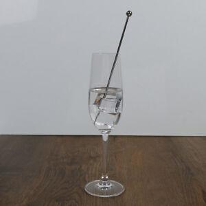 Swizzle sticks metal- stainless steel mixing cocktail coffee stirrers wine dBDNI