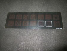 Jlg 1705753, 17025753A - New Jlg Ground Control Panel Decal