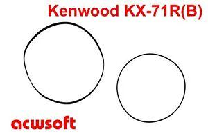 Riemen Belts for Kenwood KX-71R KX-71RB Tape Deck