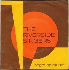 "RARE THE RIVERSIDE SINGERS ""NEGRO SPIRITUALS"" 60'S EP JBP 341 GROUPE FRANCAIS !"