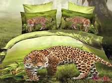 King Size Size Leopard 3d duvet bedding set LIMITED EDITION