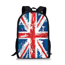 Backpack Anti Theft School Book bag Travel Satchel Rucksack UK Flag Handbag Teen