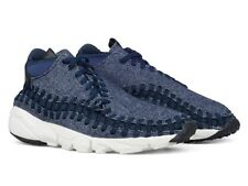 Nike Air Footscape Woven Chukka SE 857874 400 Obsidian Blue NSW Mens SIZE 10