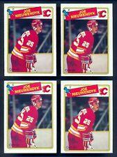 1988 OPC O PEE CHEE #16 JOE NIEUWENDYK RC 4 Card Lot NM-MT Flames Rookie PSA 9?