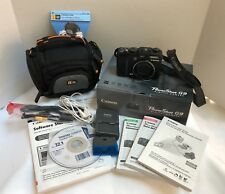Canon  Power Shot G9 Digital Camera 12.1 Mega Pixels 6xZoom Charger Case EUC