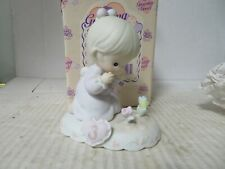 Precious Moments - 136220 GIRL W/ FLOWERS AGE 3